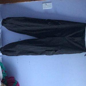 Pants & Jumpsuits - Striped cargo style pants